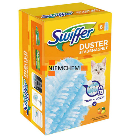 Swiffer Wkłady Miotełki do Kurzu Perfumowane 8 Sztuk DE