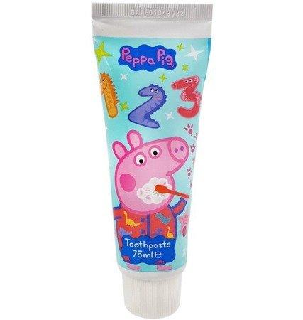 Świnka Peppa Pig Pasta do Zębów dla Dzieci- Truskawkowa 75ml UK