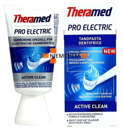 Theramed Pro Electric Active Clean Pasta do Zębów 50ml BE