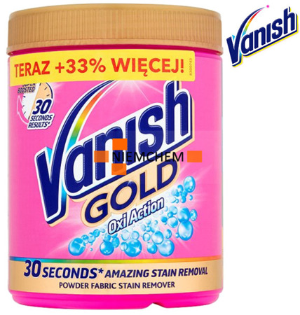 Vanish Gold Proszek Oxi Odplamiacz Kolor 940g