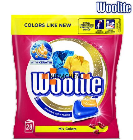 Woolite Mix Colors Kapsułki do Prania Kolor 28szt