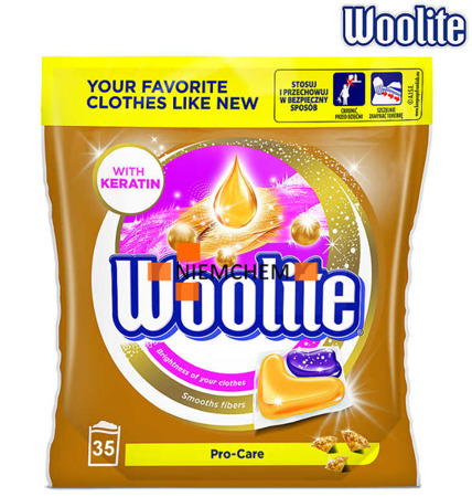 Woolite Pro-Care Kapsułki Prania Kolor Białe 35szt