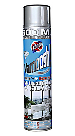 Xanto Vamoosh! Window & Glass Pianka do Mycia Szyb 600ml UK