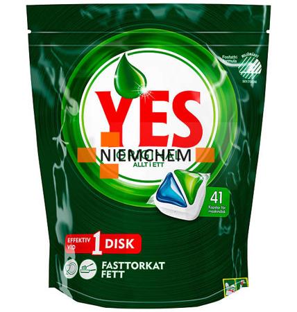 Yes (Fairy) Original All-in-1 Tabletki do Zmywarki 41szt SE NEW